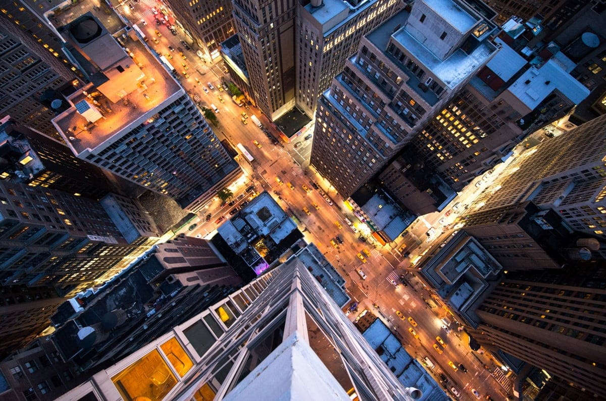 High Above The Skyscrapers By Navid Baraty -urban, skyscraper, photography, new york, city
