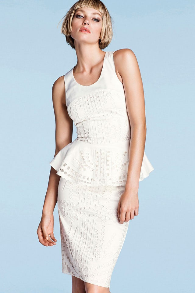 Jessica Hart in advertising H&M -photo session