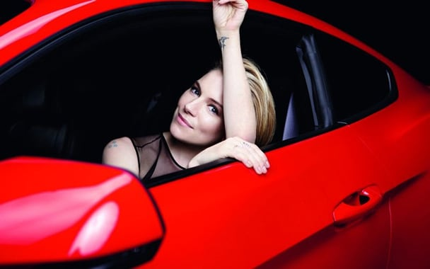 Sienna Miller for Ford Mustang Advertising -cars, car, british, auto, advertising campaign, advertising, actresses, Actress