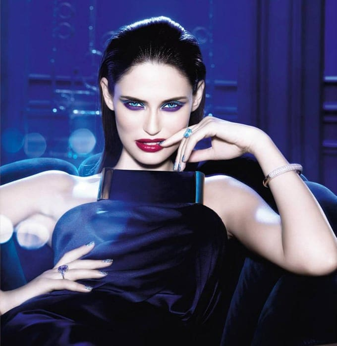 """Bianca Balti for L'Oreal Paris """"Million Carats"""" -models, model, make up, italian, collection, Christmas, beauty"""