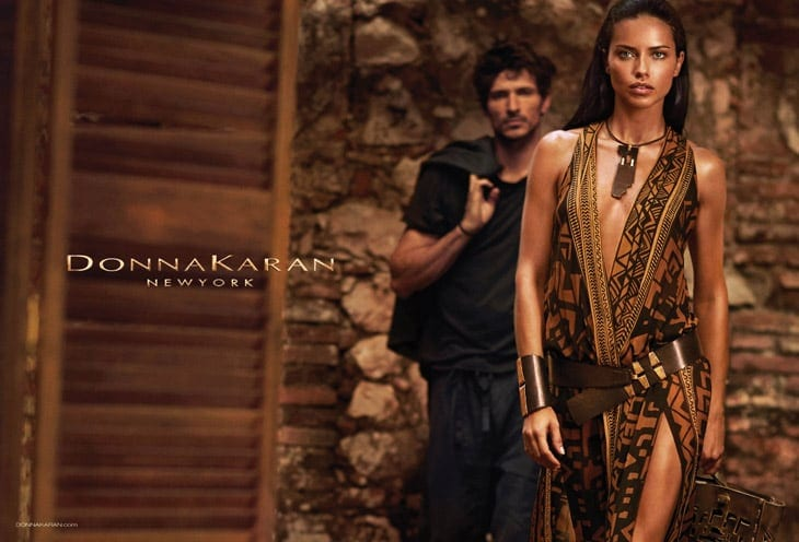 Adriana Lima in Donna Karan 's Advertising Campaign -top-model, photographer, models, model, brazilian, advertising campaign, Adriana Lima