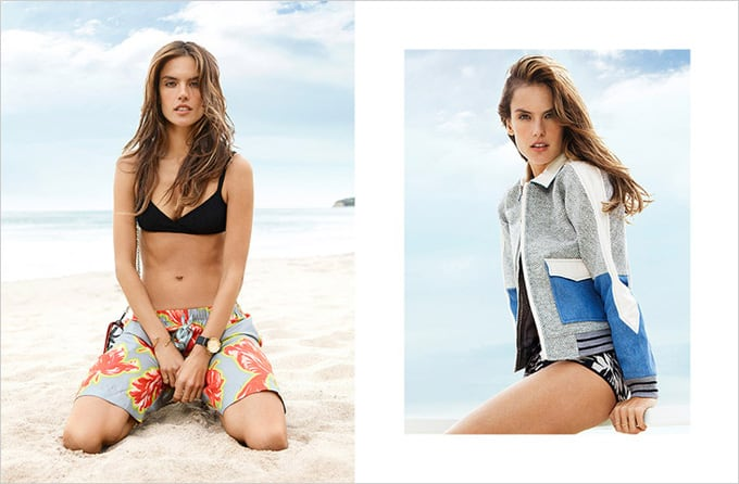 Alessandra Ambrosio for The Edit by Net-A-Porter -
