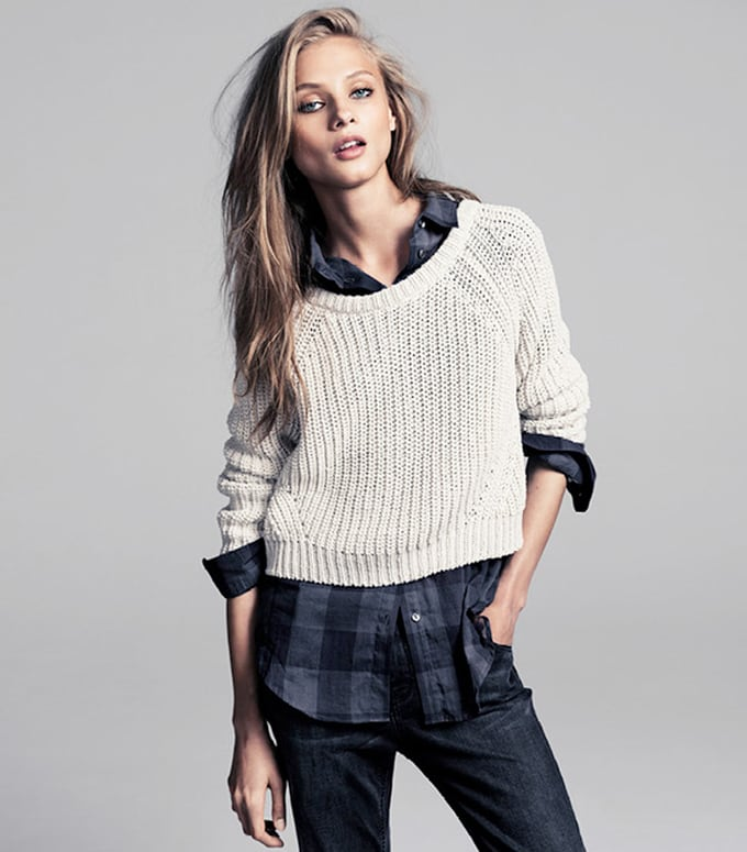 Anna Selezneva for WINTER lookbook Mango 2013 -supermodel, models, Mango, lookbook, Anna Selezneva