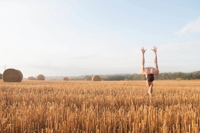 French Photographer Captures Twisting Body Poses In Natural Landscapes -photographer, landscapes, dance, body