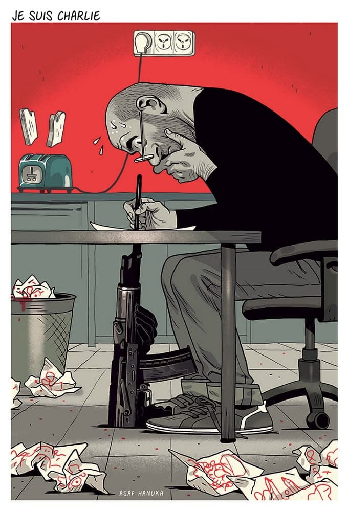 Powerful Illustrations By Asaf Hanuka