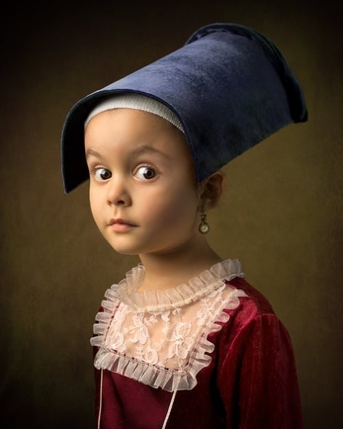 Photographer Shoots Marvelous Photos of His Daughter in the Style of Classic Paintings -portraits, photographer