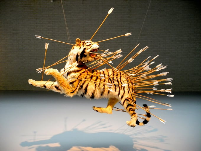 Contemporary Artist Cai Guo-Qiang -installations, contemporary art, animals