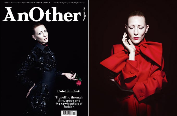Cate Blanchett for AnOther magazine -Willy Vanderperre, photographer, magazine, cover