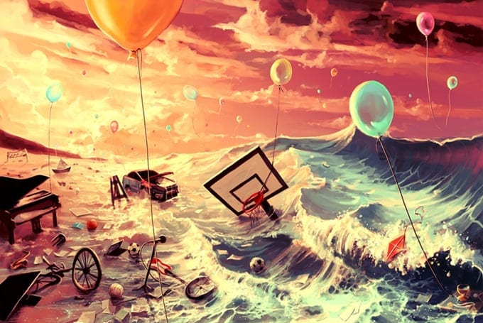 Surreal Illustrations of Cyril Rolando -illustrator, digital art, artist