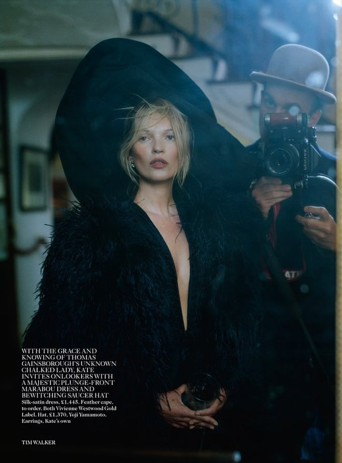Kate Moss for Vogue UK -Vogue uk, vogue, top-model, Tim Walker, supermodel, photographer, models, model, kate moss