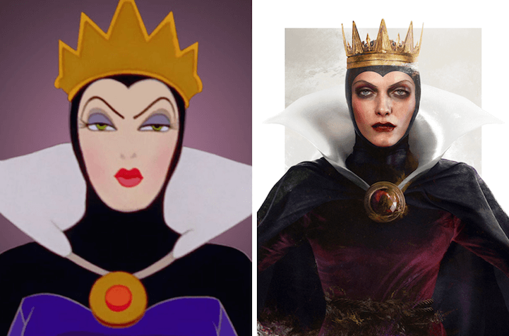 Artist Cleverly Depicts What Disney Villains Would Look Like in Real Life -transformation, real, disney