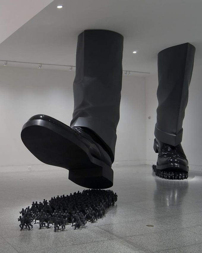 Installation works by Do Ho Suh -installations, contemporary art