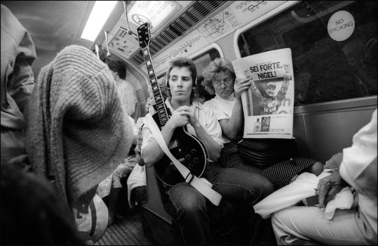 "Down the Tube Travellers on the London Underground 1987 1990 2014 01 750x488 - ""Down the Tube"" - Travellers on the London Underground 1987-1990"
