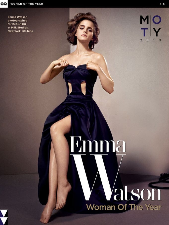 Emma Watson for GQ UK -photo-shoots, photo-series, Emma Watson, actresses