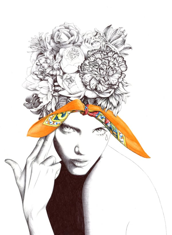 Fashion Illustrations by Florian Meacci -