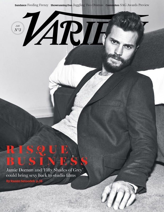 'Fifty Shades Of Grey': Jamie Dornan for Variety Magazine -models, celebrities