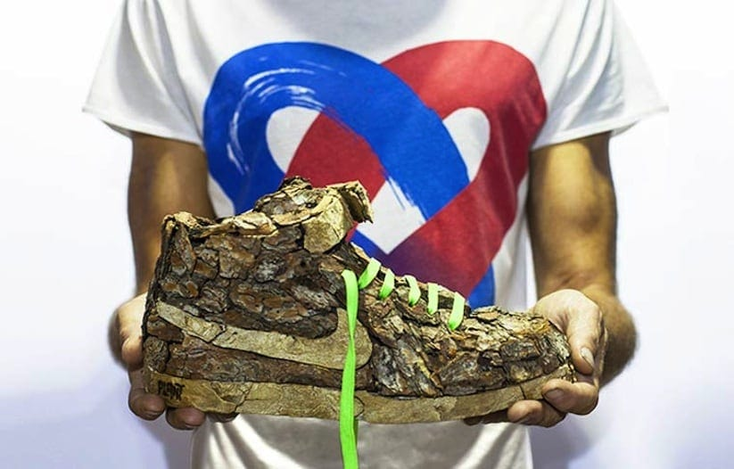 """Just Grow It Les Sneakers Vegetales by French Artist Monsieur Plant 2014 01 - """"Just Grow It ! – Les Sneakers Végétales"""" by French Artist Monsieur Plant"""