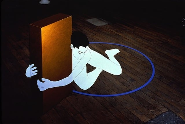 3D Optical Illusions by Justen Ladda -installations, illusions