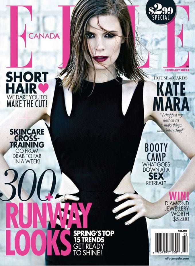 Kate Mara for ELLE Canada -max abadian, Elle, american, advertising photographer, actresses, Actress