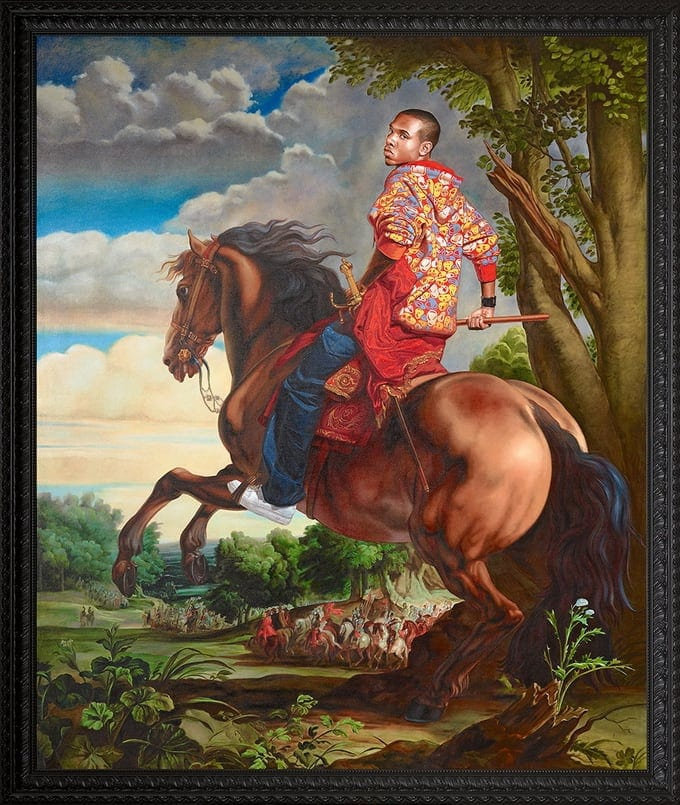 Kehinde Wiley Blends Hip-Hop With Renaissance To Make Beautiful Art -Renaissance, paintings, music, hip hop