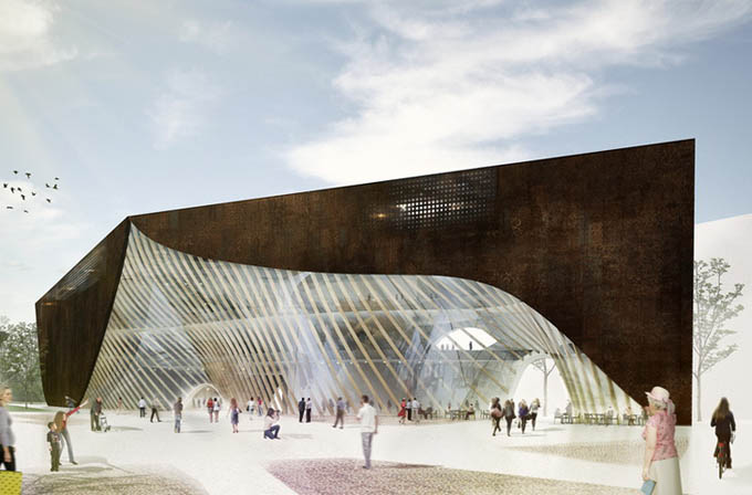 Amazing project of Helsinki's Central Library -library, finland