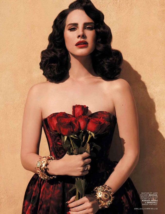Lana Del Rey for L'Officiel Paris -photo-shoots, Lana del Rey, celebrities