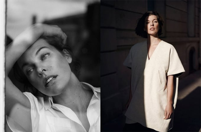 Milla Jovovich for The Edit by Net-A-Porter -photographer, Net-A-Porter, Milla Jovovich, actresses, Actress