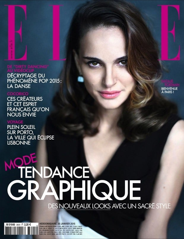 Natalie Portman For Elle France By Mathieu Cesar -photoshoot, Natalie Portman, Elle France, celebrities, actresses
