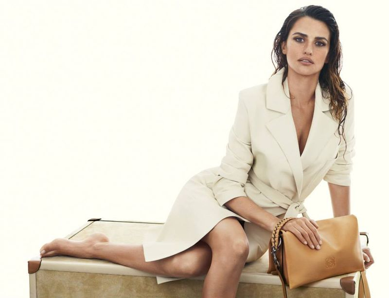 "Penelope Cruz in ""Loewe"" Advertising -Penelope Cruz, loewe, advertising, actresses, Actress"