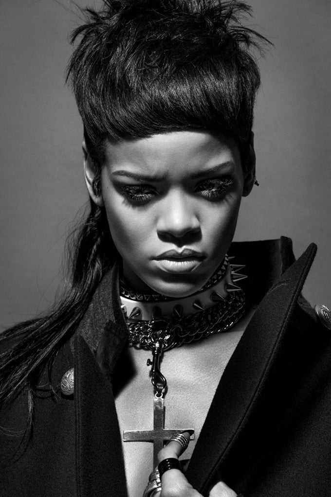 Rihanna for 032c Magazine -Vinoodh Matadin, Rihanna, photoshoot, photographer, photo session, Inez van Lamsweerde, duo