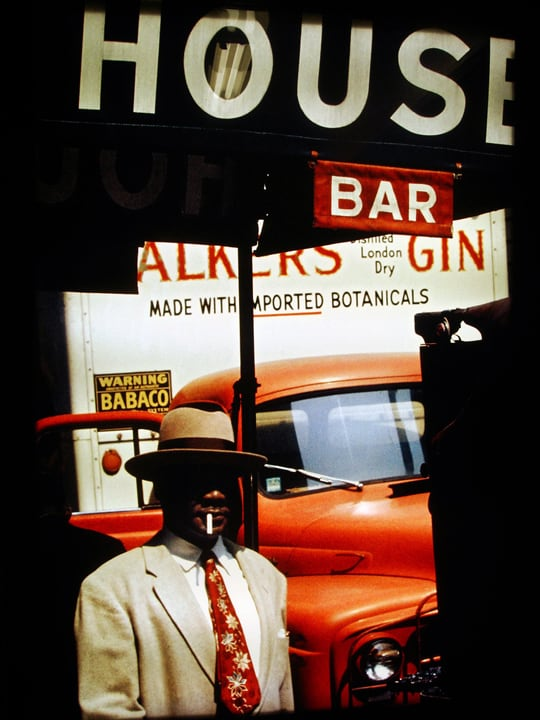 Saul Leiter NYC Photography 01 - 1950's New York City Photography by Sail Leiter
