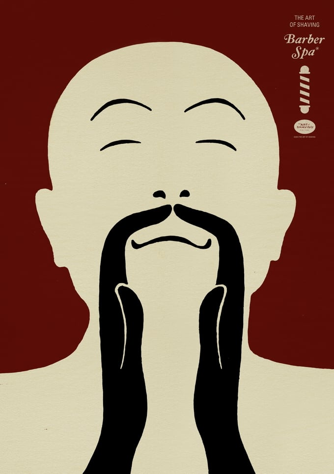 Advertising Campaign The Art of Shaving: Barber Spa 3 -advertising campaign, advertising