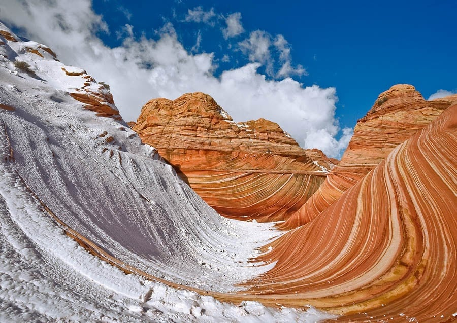 The Natural Miracle Of The Arizona Desert Known As The Wave -usa, sand, desert