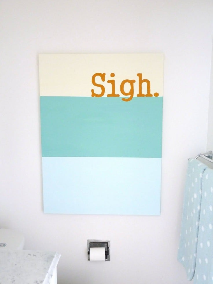 31 DIY Paintings To Enhance Your Interior and Decorate Walls