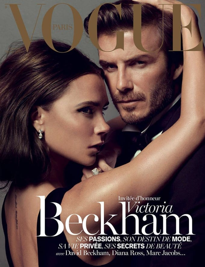 David & Victoria Beckham for Vogue Paris -vogue Paris, vogue, Vinoodh Matadin, Victoria Beckham, photographer, legendary, Inez van Lamsweerde, duo, David Beckham