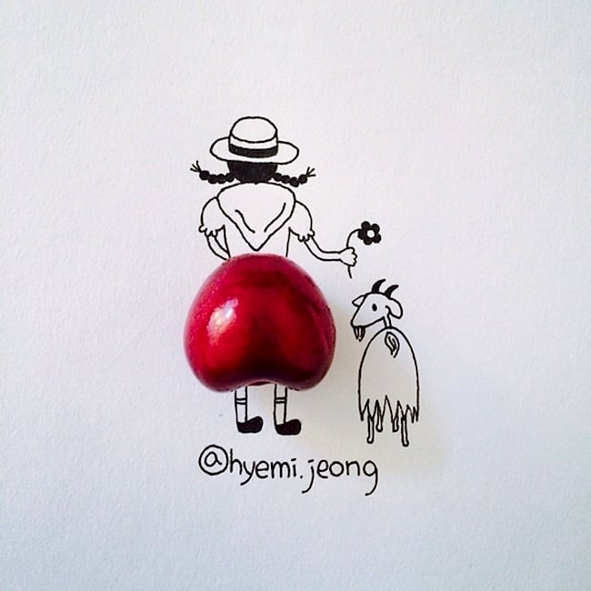 Witty Illustrations Created Around Everyday Household Objects by Hyemi Jeong -