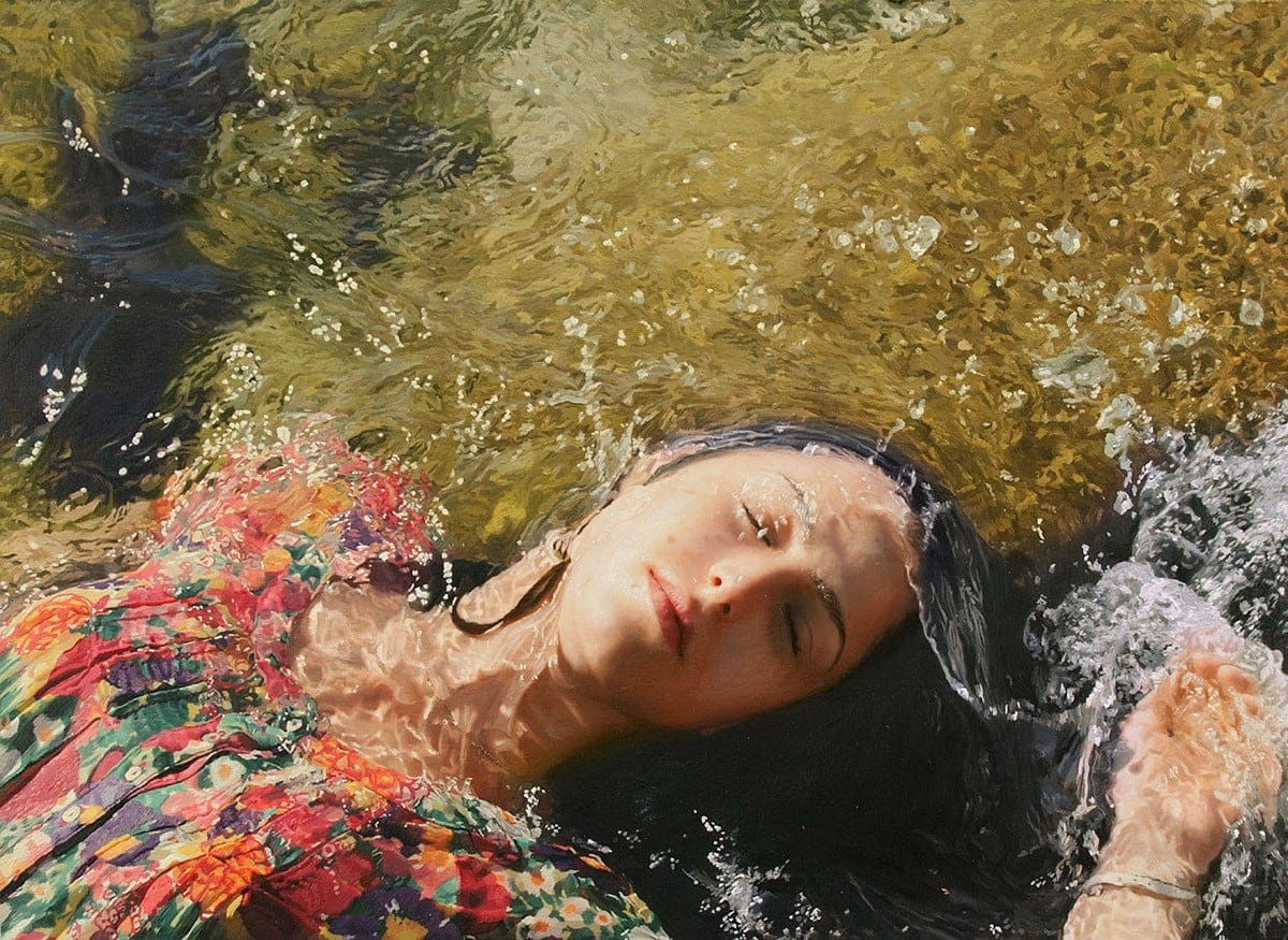 15 Unbelievable Female Portraits Painted With Oil That Look Like Photographs -portraits, nature, hyper-realistic
