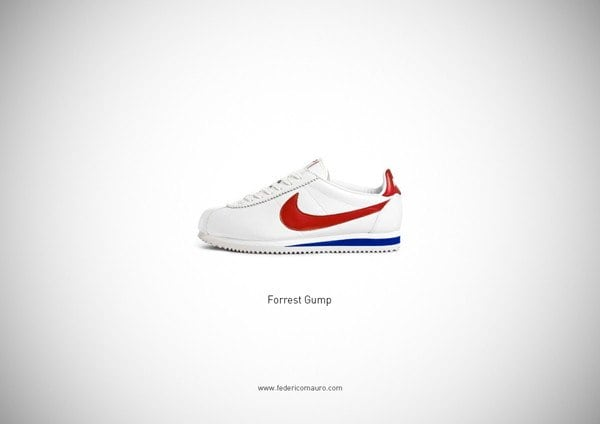 Famous shoes by Federico Mauro -shoes, pop-culture, italian, Federico Mauro, famous, designer, cinema, artist, art-director
