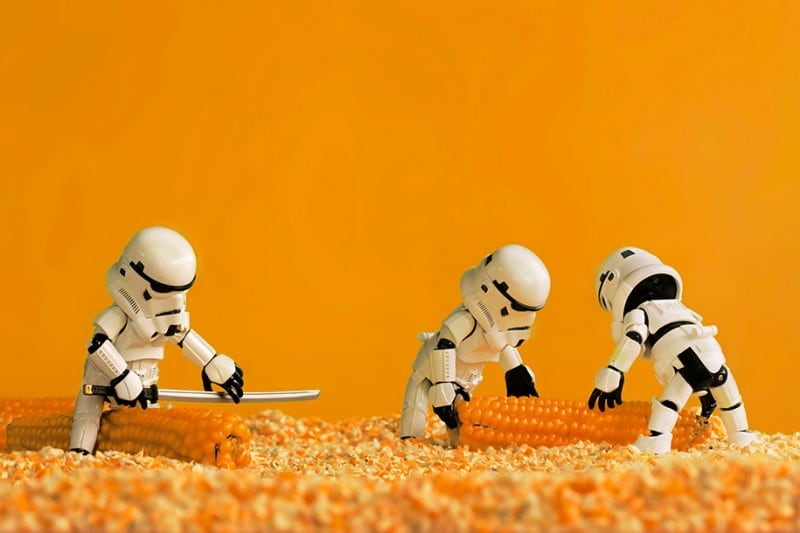 Star Wars Toys by Zahir Batin -stormtroopers, Star Wars