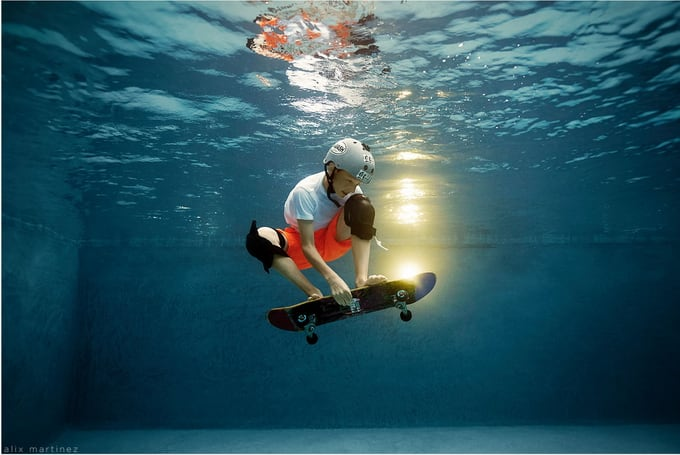 Creative Underwater Portraits of Kids by Alix Martinez -underwater photography, underwater, sport, kids, children