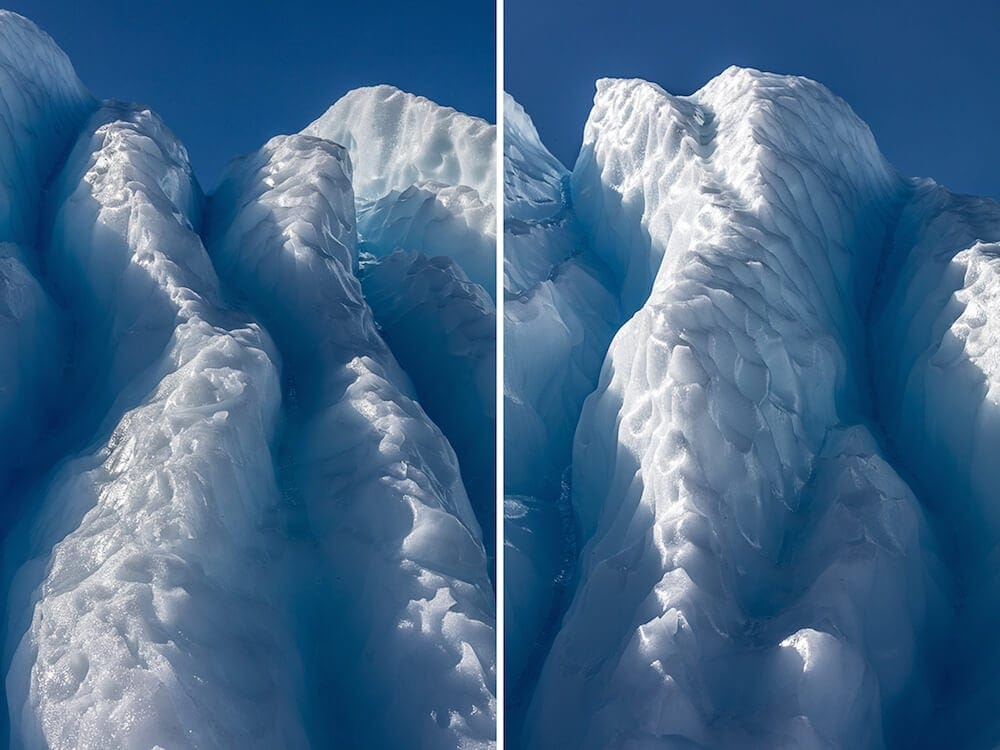Julieanne Kost' Beauty of Antarctica's Blue Ice -nature, ice