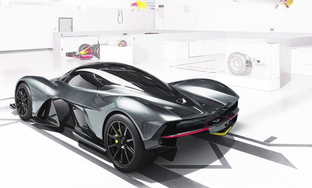 Aston Martin and Red Bull Racing Reveal AM-RB 001 Hypercar -car