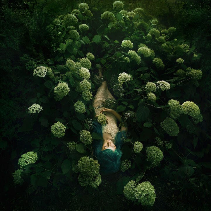 Captivation Photos of Women Blooming in Nature by Bella Kotak -girls