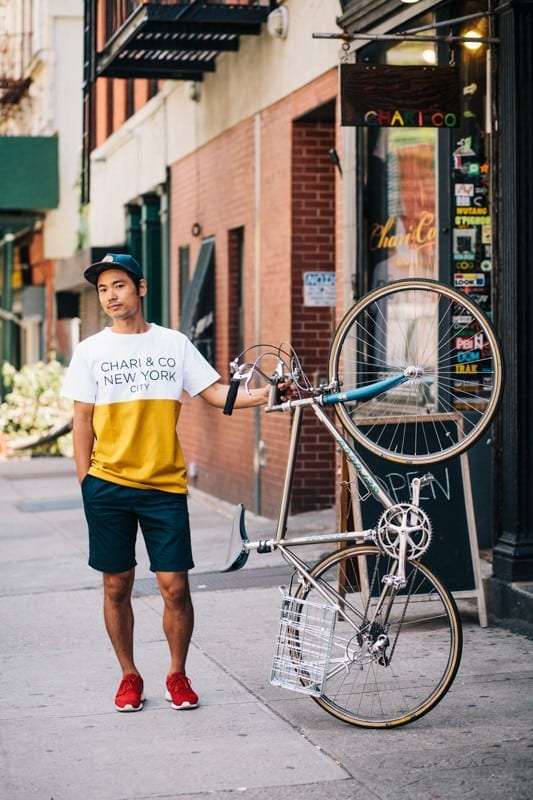 bikers01 - Stylish Portraits of NYC Cyclists With Their Bikes