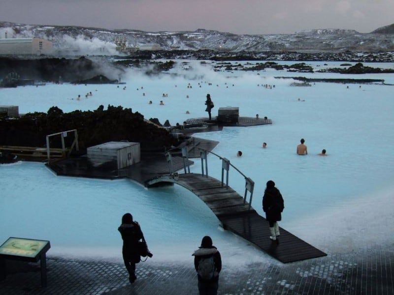 Blue Lagoon In Iceland -Iceland
