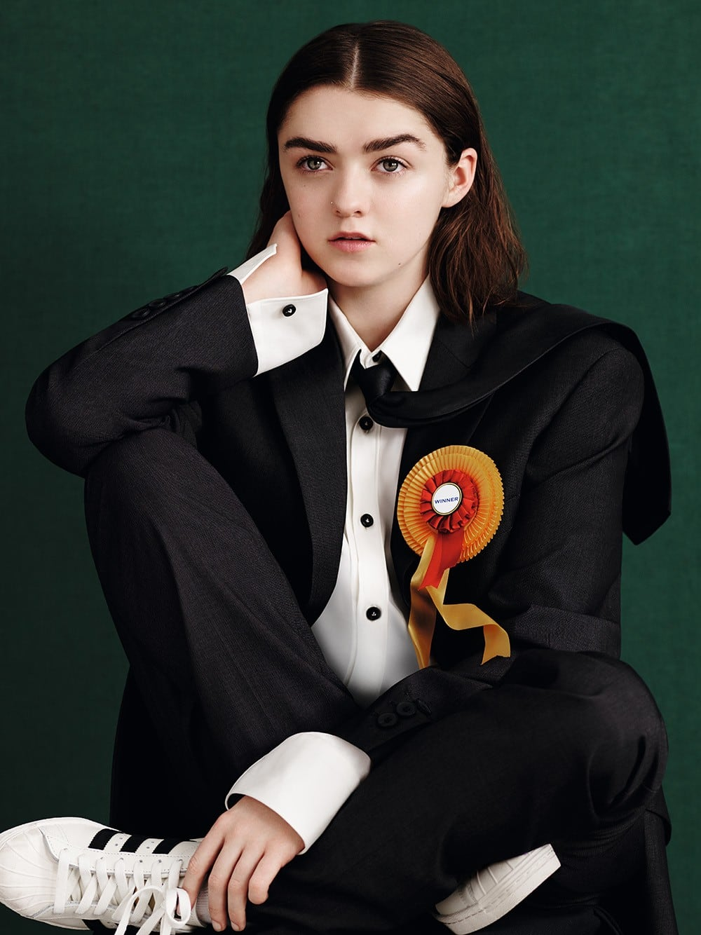 Maisie Williams Is Marvelous in Dazed and Confused Magazine, Spring 2015 Issue -photography, photo session, famous, Actress
