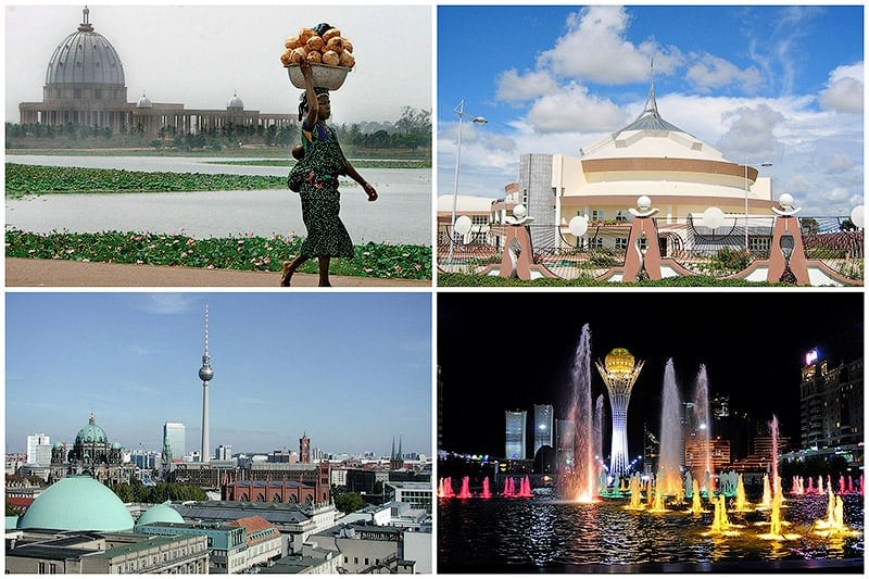 10 World's Youngest Capitals -cities