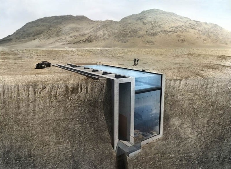 A House hidden in a Cliff with incredible Views of the Aegean Ocean -Luxury, house, crib
