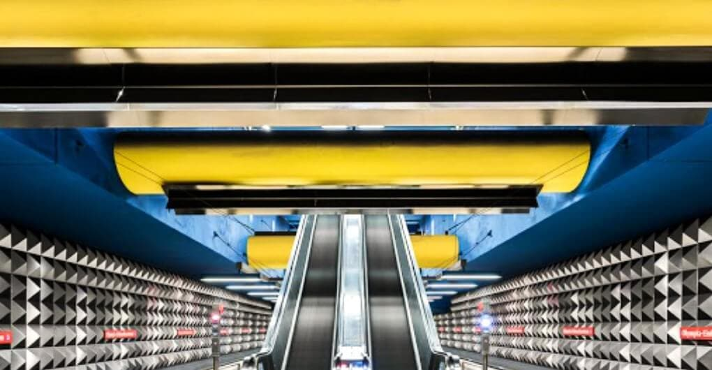 Stunning Photos Capture the Underappreciated Beauty of Empty Subways -urban, subway, photo, metro