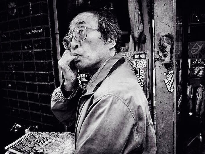Street Photographer Captures Candid Moments in Tokyo -street photography, photo